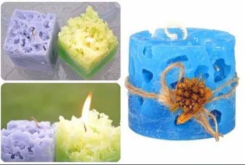 мастер-класс парафиновые свечи