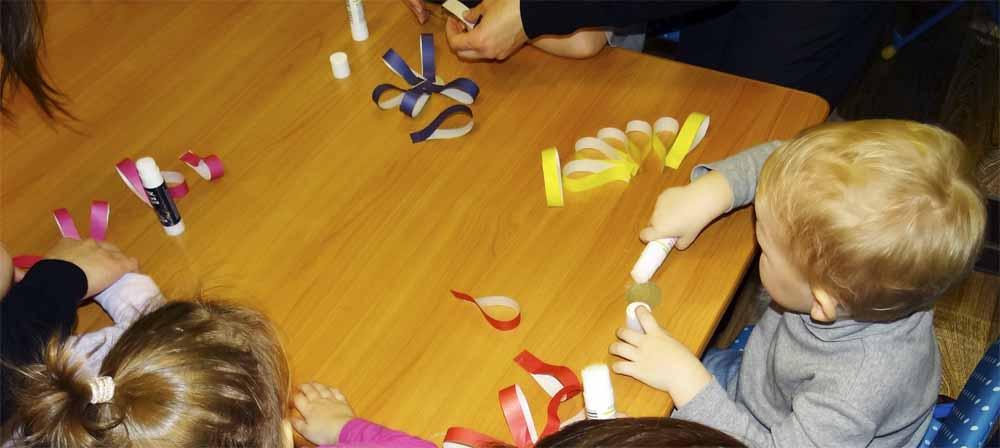 на занятии по раннему развитию в детском центре Гармония Мытищи