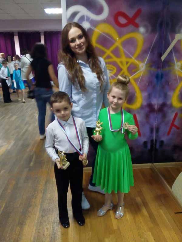 спортивно-бальные танцы Мытищи - победители