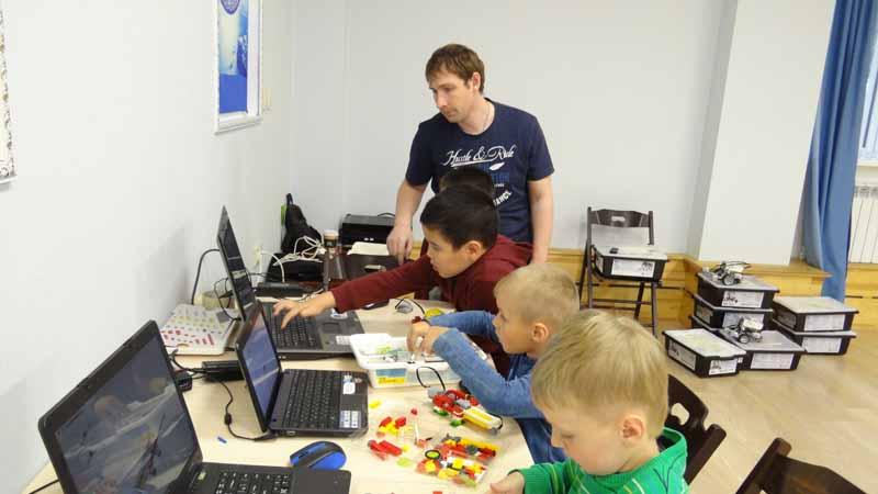 робототехника для детей Мытищи