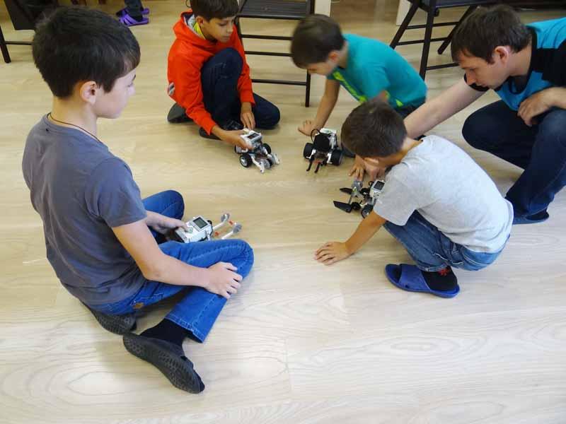 робототехника в Мытищах