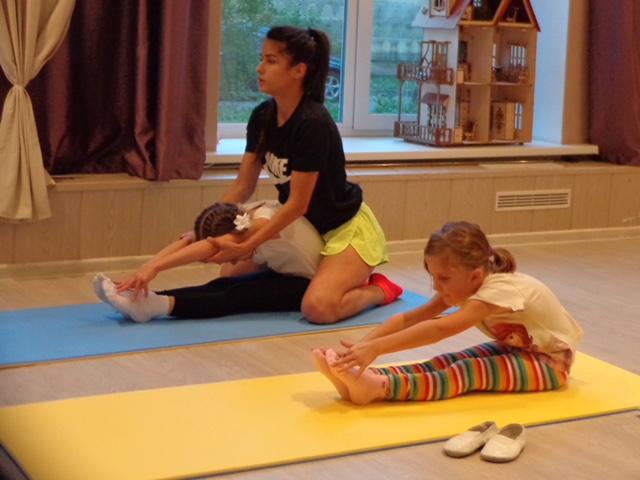 Гимнастика для детей в Гармонии Мытищи