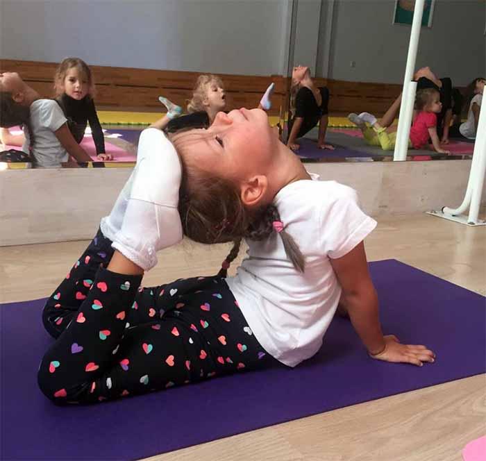 художественная гимнастика для детей Мытищи