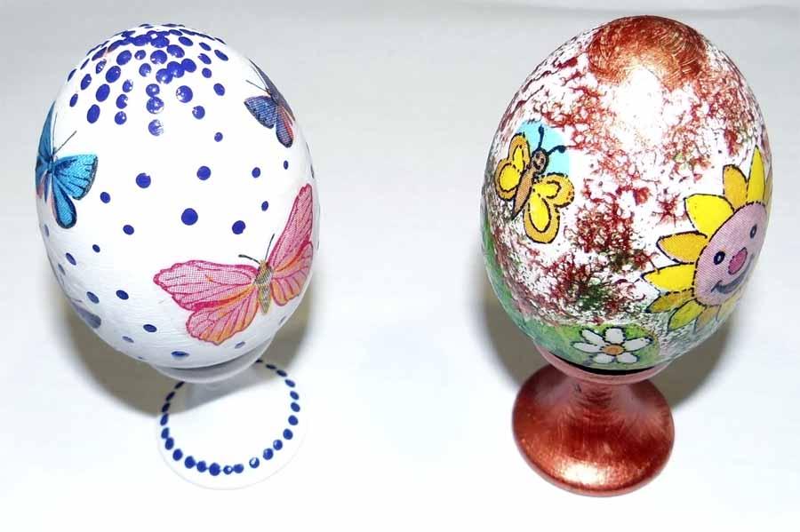 Декупаж яйца - пасхальные мотивы