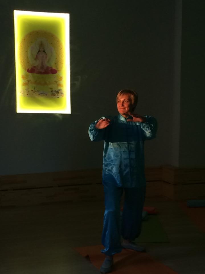 Инструктор по цигун Ольга Гулинкина