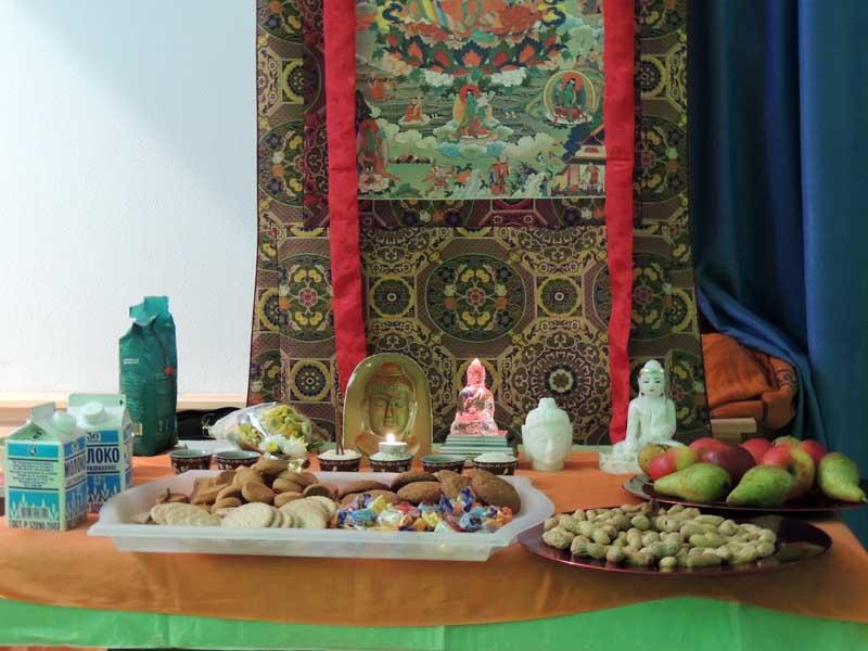 Встреча с буддийским монахом